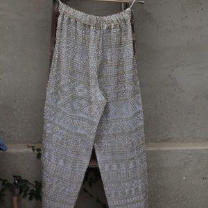 Vintage sequined pants